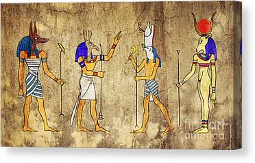 Hathor Digital Art Canvas Prints