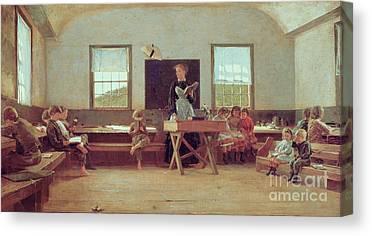 Schoolrooms Canvas Prints
