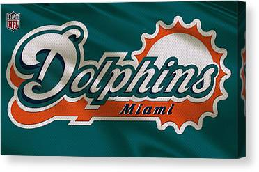 Miami Dolphins Canvas Prints
