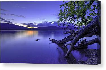 Lake Mcdonald Canvas Prints