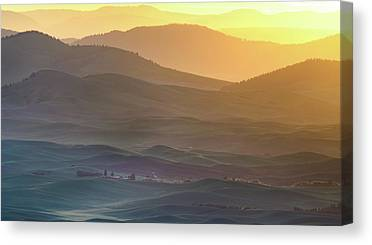 Sunrise Horizon Canvas Prints