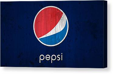 Pepsi Canvas Prints