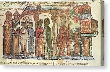 Saint Olga Canvas Prints