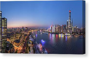 Bund Canvas Prints