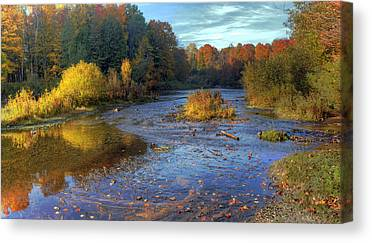 Manistee River Canvas Prints