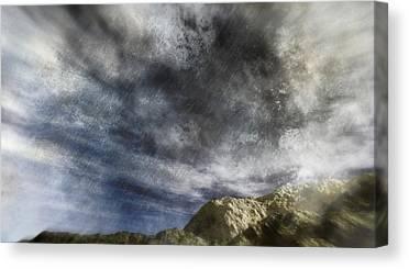 The Nature Center Digital Art Canvas Prints