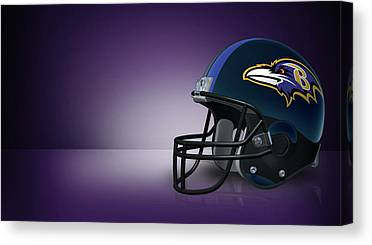 Baltimore Ravens Canvas Prints