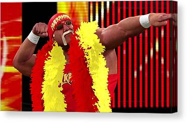 Hulk Hogan Canvas Prints