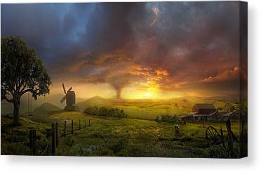 Sunset Canvas Prints
