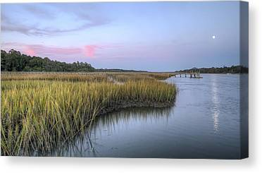 Tidal Creek Canvas Prints