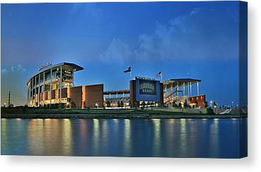 Baylor University Canvas Prints