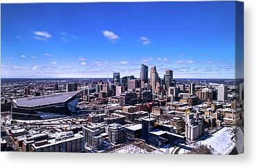 University Of Minnesota - Twin Cities Canvas Prints
