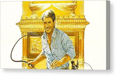 Raiders Of The Lost Ark Canvas Prints