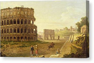 The Colosseum Canvas Prints