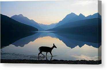 Glacier National Park Canvas Prints