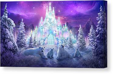 Ice Canvas Prints