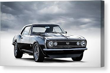 Chevy Ss Canvas Prints
