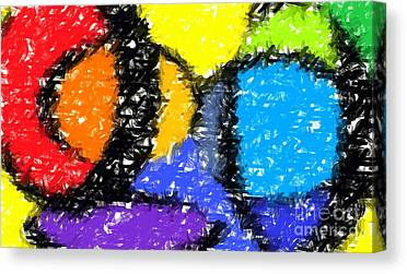 Vivid Colour Canvas Prints