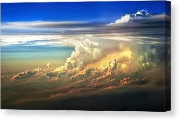 Thunderheads Canvas Prints