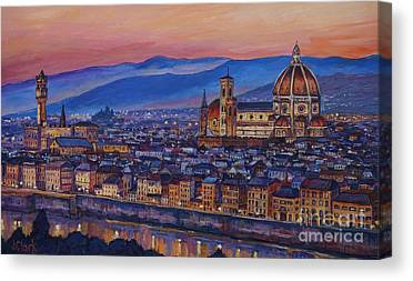 Uffizi Canvas Prints