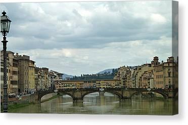 Ponte Vocchio Canvas Prints