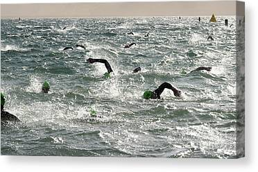 Ironman Competition Canvas Prints