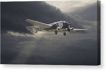 Civil Aviation Canvas Prints