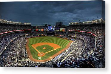 New York Stadiums Canvas Prints