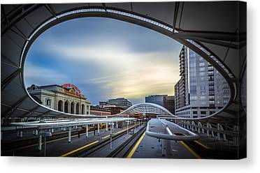 Railway Station Canvas Prints