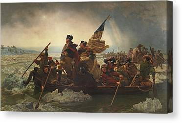 Continental Army Canvas Prints