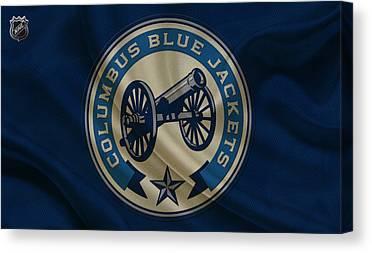 Columbus Blue Jackets Canvas Prints