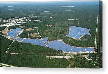 Solar Farms Canvas Prints