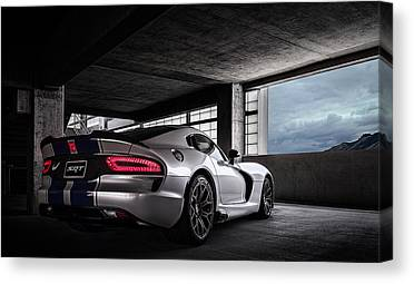 Viper Canvas Prints