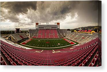 University Of Utah Canvas Prints