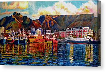 Table Mountain Canvas Prints
