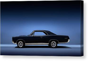 Muscle Car Canvas Prints