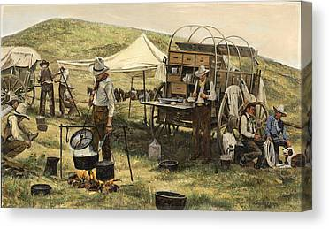Chuck Wagon Canvas Prints