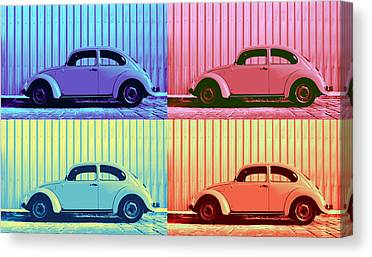 Metallic Sheets Canvas Prints