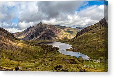 Cwm Idwal Canvas Prints