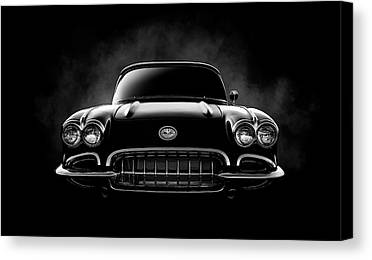 Corvette Canvas Prints