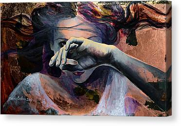 Hand Paintings Canvas Prints