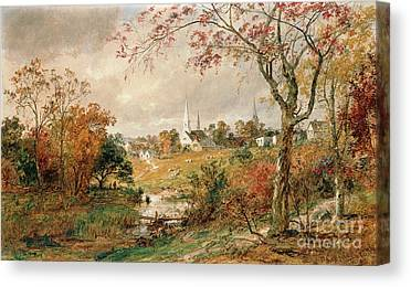 Cropsey Paintings Canvas Prints