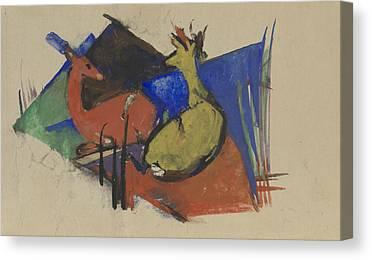 Two Deer Canvas Prints