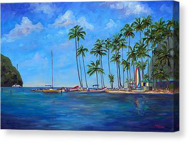 Island .oasis Canvas Prints