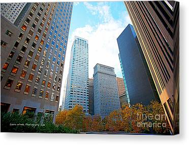 Office Space For Rent In Downtown San Francisco Canvas Prints