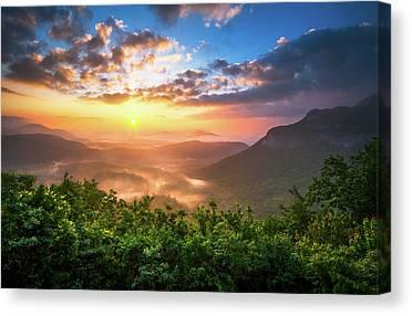 Sunrise Horizon Canvas Prints