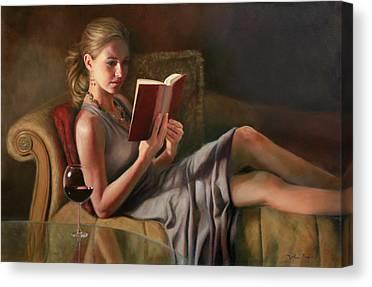 Chaise Canvas Prints