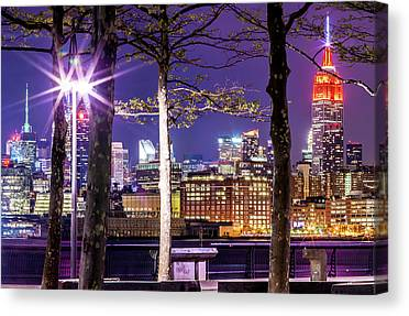 New York New York Com Canvas Prints