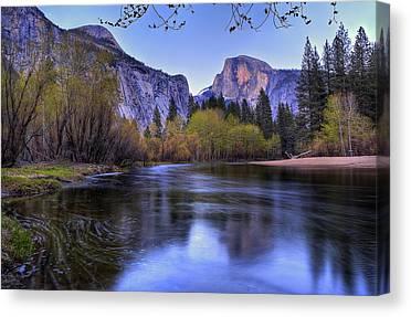 Yosemite Half Dome Canvas Prints
