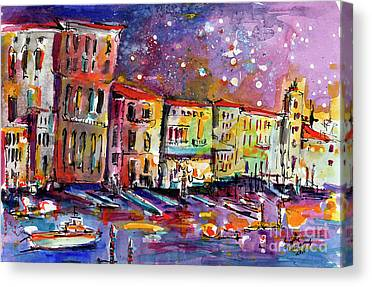 Venice Italy Ginette Canvas Prints